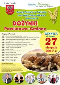 DOŻYNKI POWIATOWO-GMINNE 2017