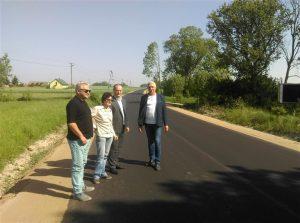 Odbiór drogi Bylice-Klukowo