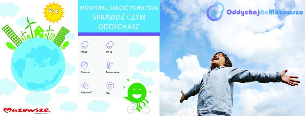 Oddychaj Na Mazowszu - czujnik Pułtusk