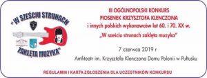 zaproszenie na konkurs pn. w sześciu strunach zaklęta muzyka