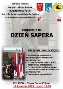 Zaproszenia na Dzień Sapera