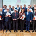 Tadeusz Nalewajk z odznaczeniem BENE MERITUS POWIATOM za szczególne osiągnięcia wpływające na rozwój powiatów