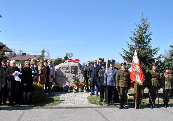 Uroczystości upamiętniające Zbrodnię Katyńską i Katastrofę Smoleńską