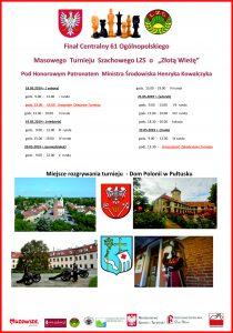 61 Finała Masowego Ogólnopolskiego Turnieju Tuneju Szachowego LZS o Złotą Wieżę