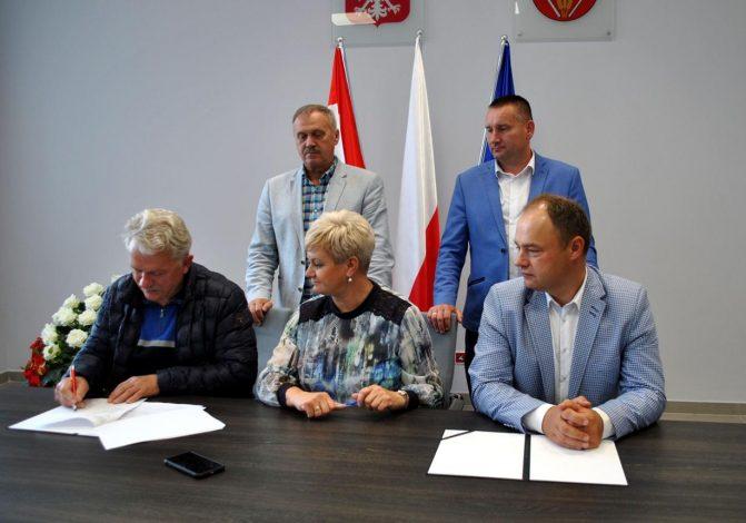 Umowa na przebudowę drogi powiatowej nr 2422W Nasielsk-Strzegocin-Szyszki-Gołymin Ośrodek na odcinku w m. Szyszki Włościańskie podpisana.