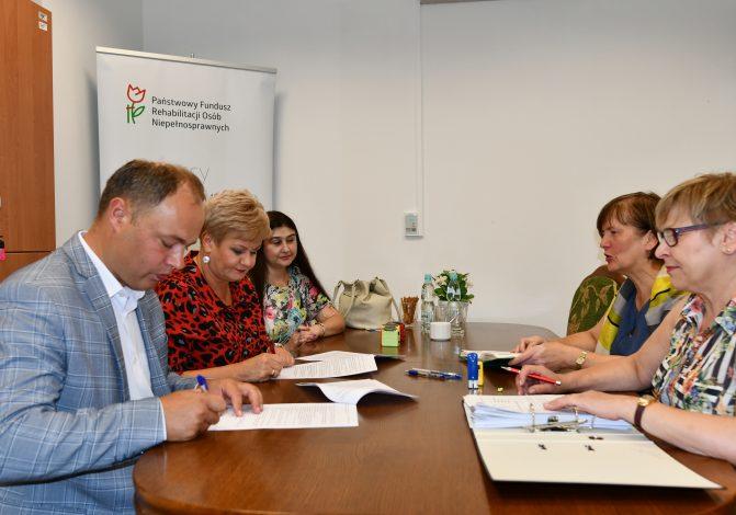 Dofinansowanie z Państwowego Funduszu Osób Niepełnosprawnych dla Powiatu Pułtuskiego - 2019