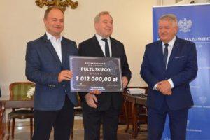 Dofinansowanie z Funduszu Dróg Samorządowych dla Powiatu Pułtuskiego