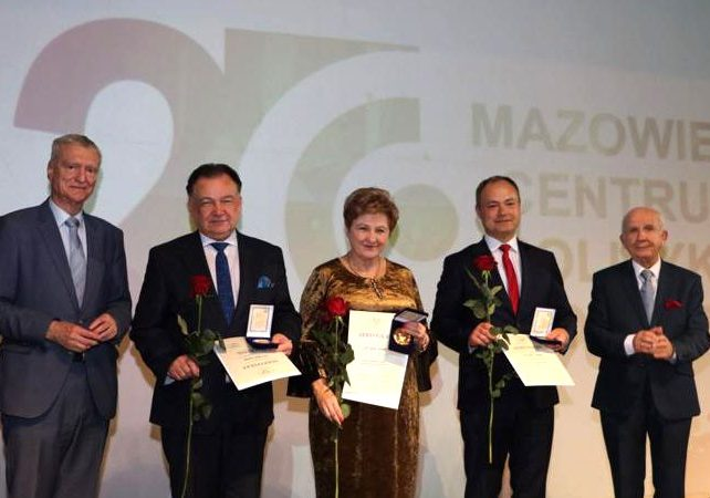 Złoty Medal Akademii Polskiego Sukcesu dla Starosty Pułtuskiego Jana Zalewskiego