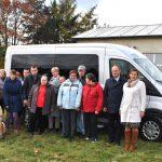 Nowy samochód do przewozu osób niepełnosprawnych dla Warsztatów Terapii Zajęciowej w Świeszewie