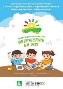 Plakat - KRUS zaprasza do udziału w 10. edycji Ogólnopolskiego Konkursu Plastycznego