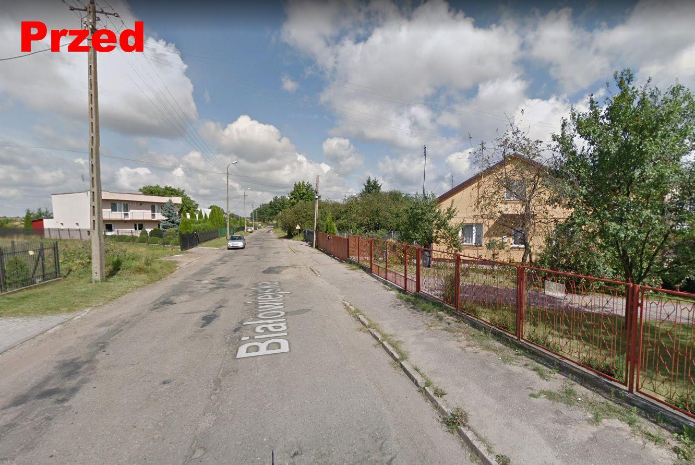 Droga Pułtusk ul. Białowiejska