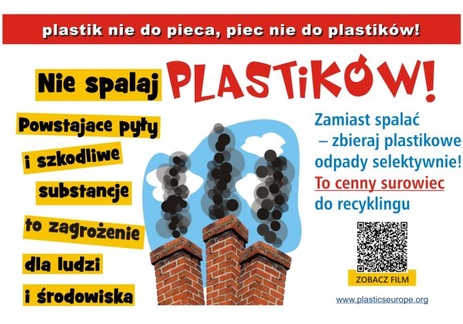 Plakat - Plastik nie do pieca
