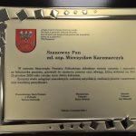 Podziękowania za bohaterską postawę dla mł. asp. Mieczysława Kaczmarczyka