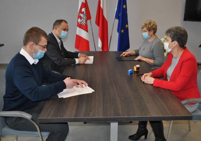 Podpisanie umowy na przebudowę ul. Stare Miasto w Pułtusku