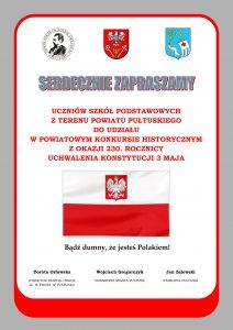 Plakat - Konkurs Historyczny