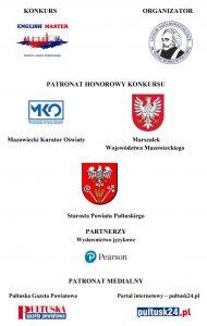 Plakat - Regionalny Konkurs Języka Angielskiego w LO
