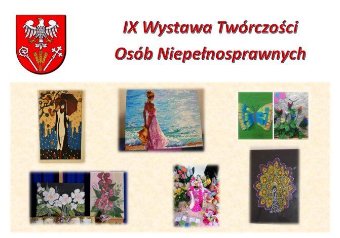 IX Wystawa Twórczości Osób Niepełnosprawnych