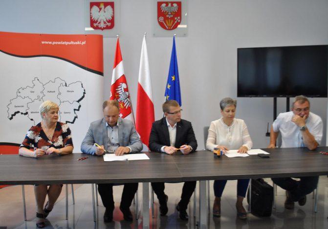 Umowa na budowę mostu oraz przebudowę drogi powiatowej podpisana