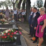 Uroczystość odsłonięcia odnowionej mogiły śp. Bolesława Melecha